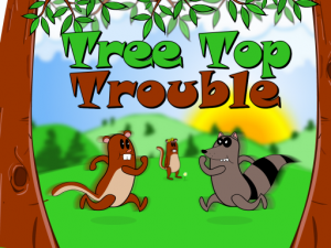 Tree Top Trouble main menu screenshot