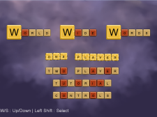 World Wide Words main menu screenshot